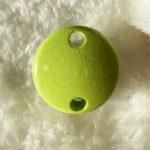 Clip bois vert anis
