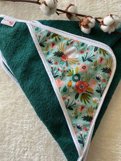 drap de bain enfant bébé personnalisable broderie prénom coton bio GOTS