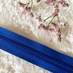 Fermeture à glissière bleu royal
