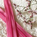 Fermeture à glissière rose