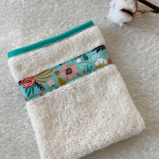 gant de toilette éponge coton bio