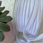 passepoil tissus bio blanc