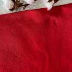 jersey de coton bio rouge
