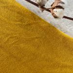 micro éponge de coton bio moutarde
