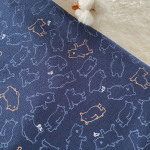 sweat molletonné bio motifs ours