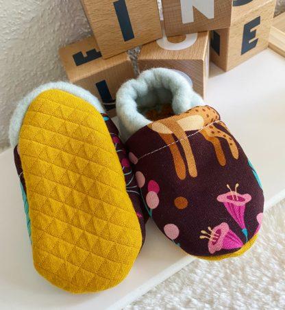 chausson bébé en coton bio