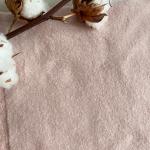 polaire de coton bio rose pale