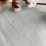 polaire de coton bio vert clair