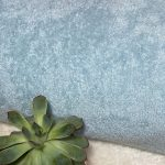 éponge coton bio bleu clair